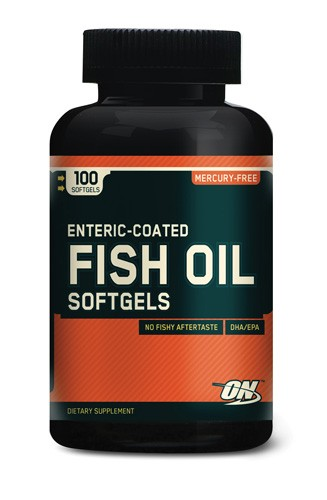 Fish Oil Softgels (Optimum Nutrition)
