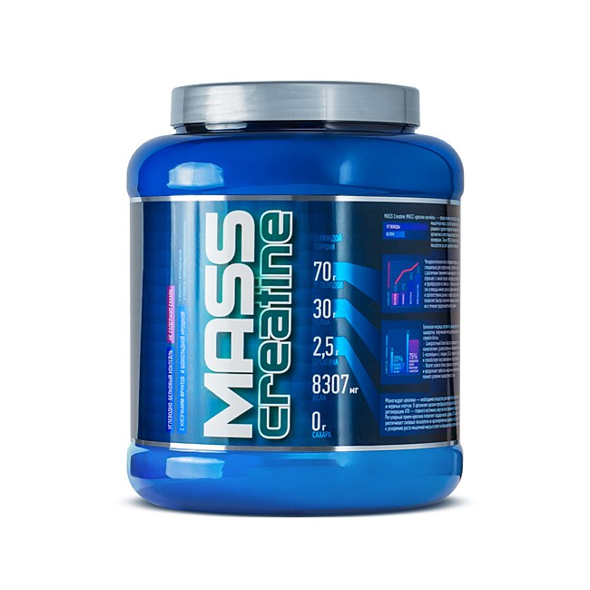 Mass + Creatine NEW - Гейнер, арт: 2826