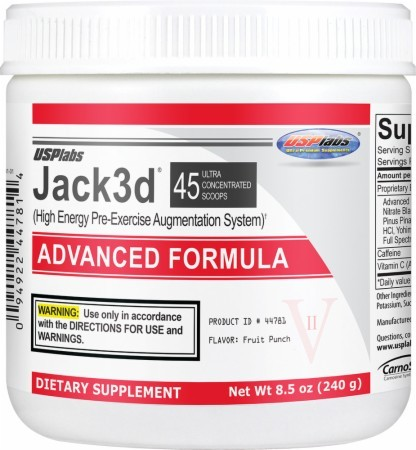 Jack 3d Advanced Formula (USP Labs)