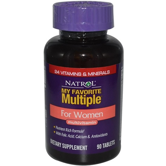 Natrol My Favorite Miltiple Women