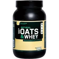 100% Natural Oats  Whey (Optimum Nutrition)