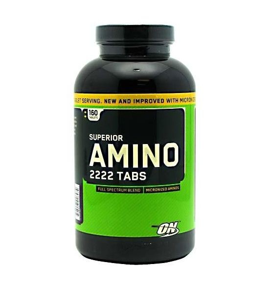 Аминокислота Amino 2222 New Formula Optimum Nutrition