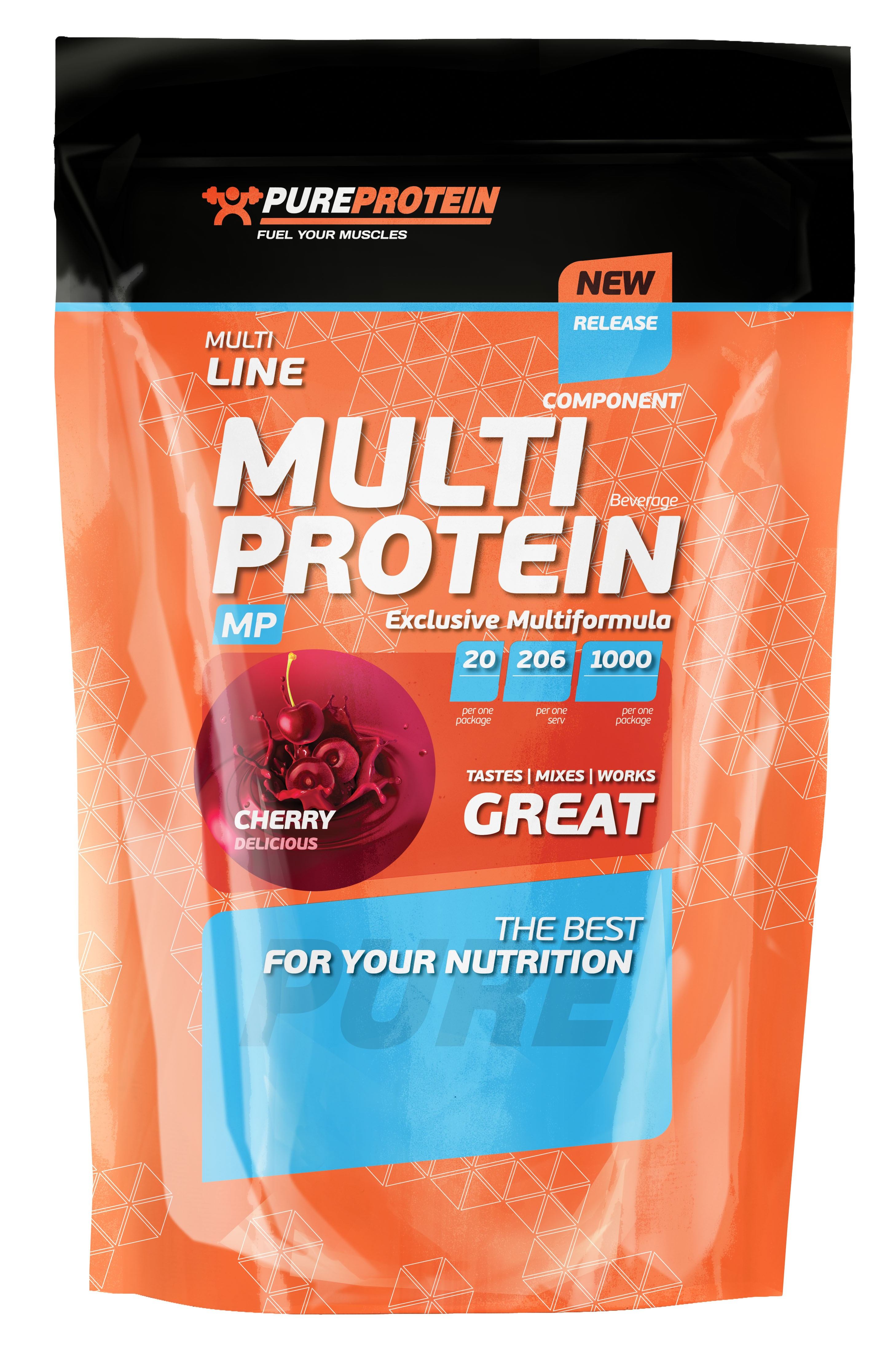 Pure Protein Multicomponent Protein