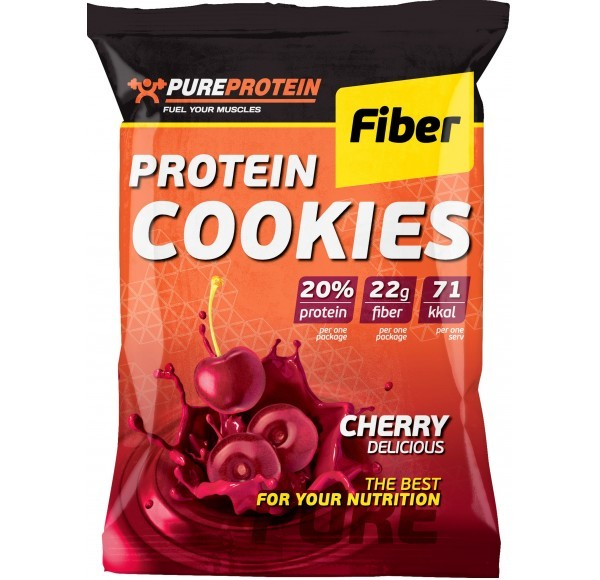 Pure Protein Protein Cookies Fiber