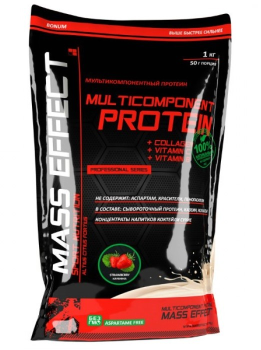 Multicomponent Protein (Mass Effect)