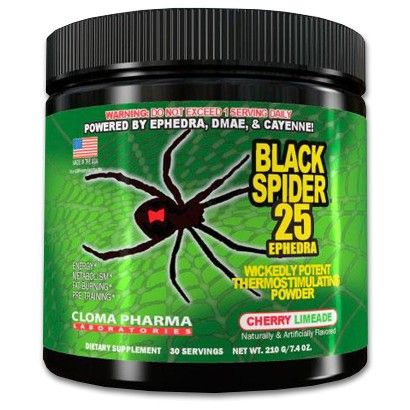 Black Spider-25 (Cloma Pharma)