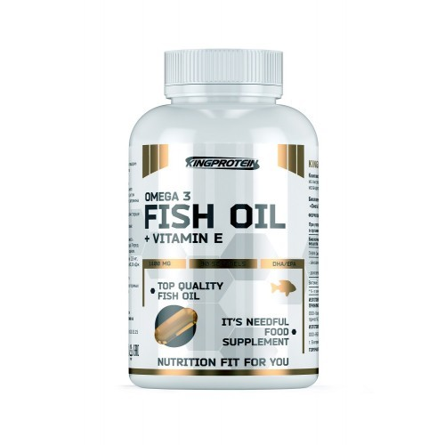 Fish Oil + Vitamine E (King Protein)