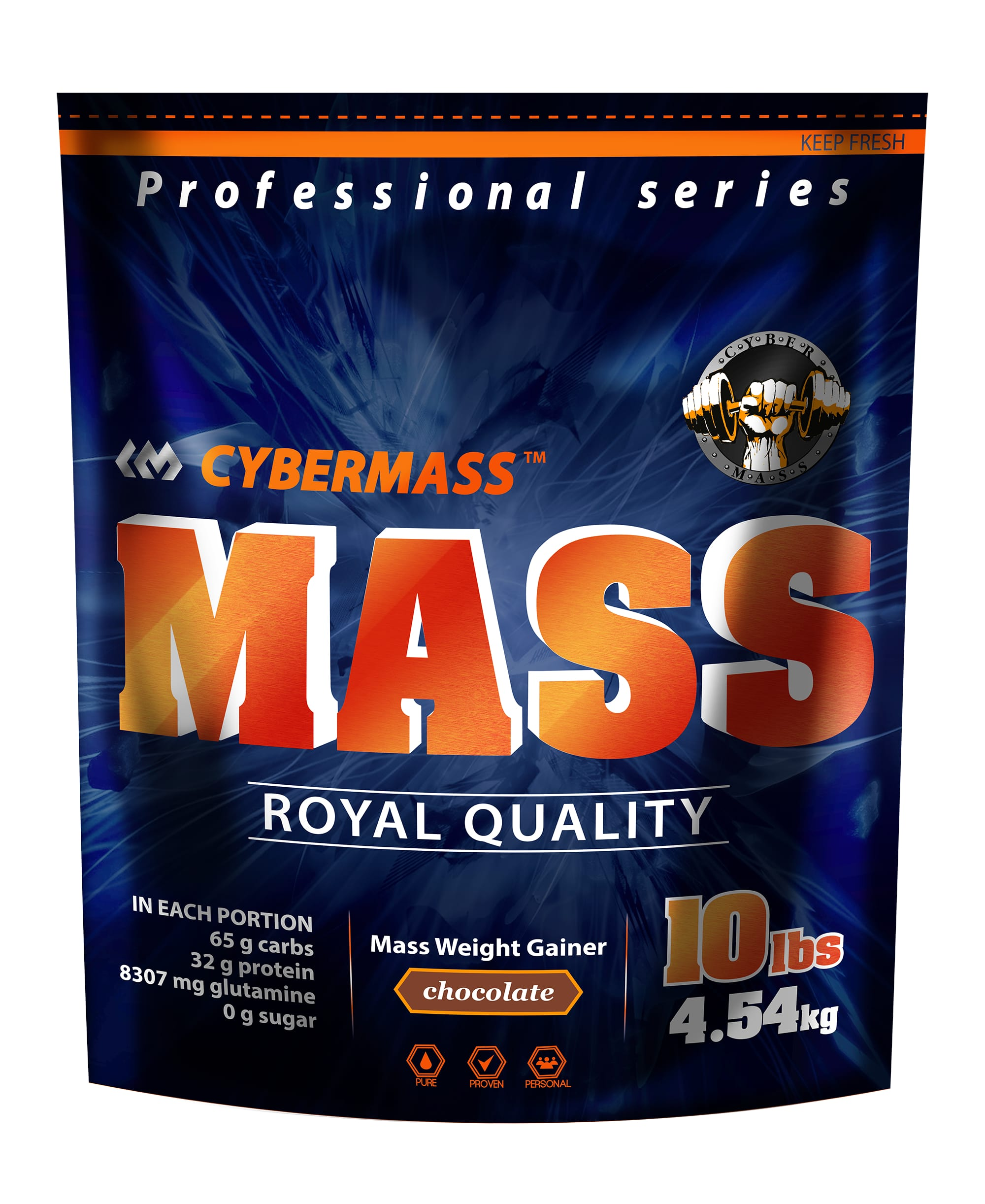 Mass Gainer 10 lb (Cybermass)