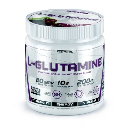 King Protein L-Glutamine
