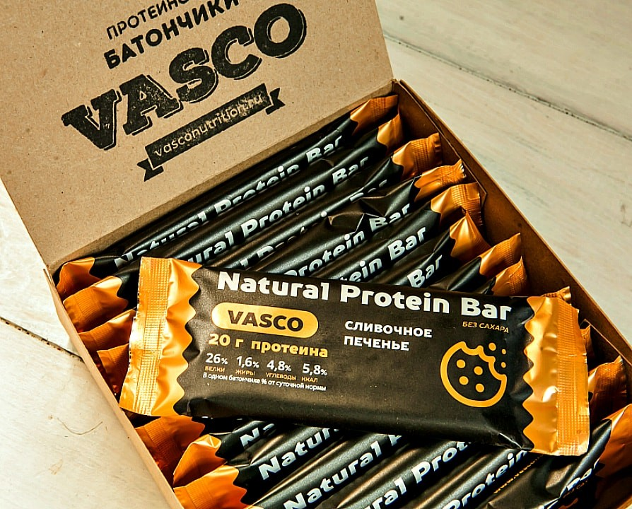 Natural Protein Bar (Vasco)