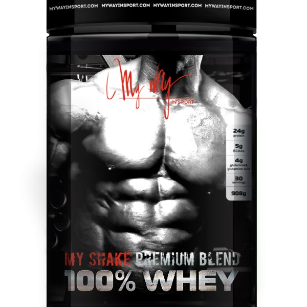 100% Whey 900 g (My Way In Sport)