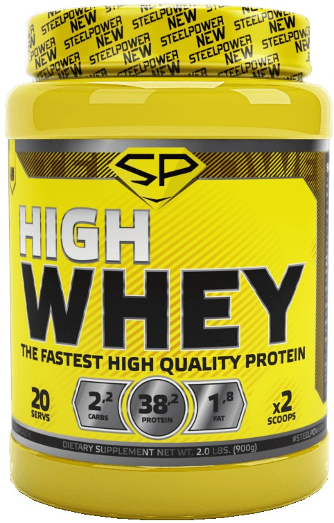 Steel Power Nutrition High Whey