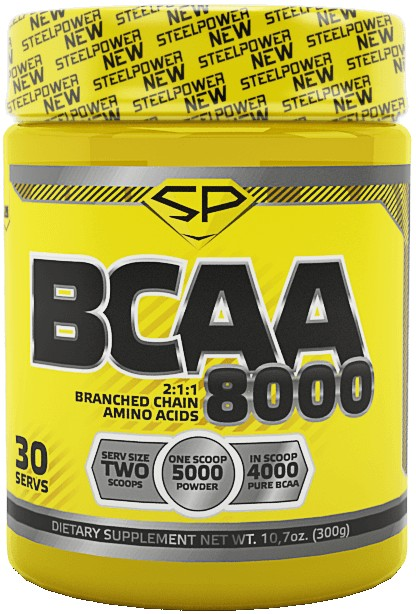 BCAA 8000 2:1:1 (Steel Power Nutrition)