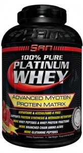 100% Pure Platinum Whey (S.A.N.)